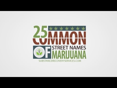 25 Most Common Street Names of Marijuana | Addiction Treatment Programs