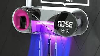 무선 칫솔살균기 자외선 건조기 소독기 USB충전식 가정…