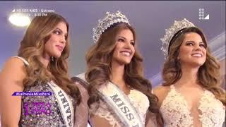 Miss Perú 2018: la previa - 22 de octubre del 2017