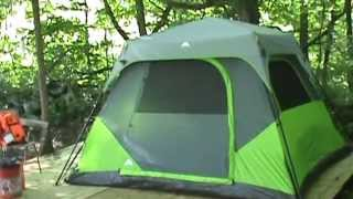 Ozark Trail Instant tent first look