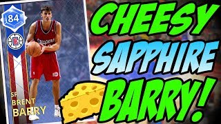 NBA 2K18 MYTEAM SAPPHIRE BRENT BARRY GAMEPLAY! IT