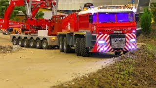 RC HAULAGE EXCTREME! UNIQUE SELF MADE RC VEHICLES IN ACTION! COOL RC SHOW INTERMODELLBAU 2018