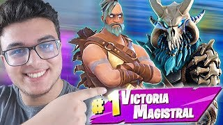 "SO WIN with ""RAGNAROK"". FORTNITE's BEST LEGENDARY SKIN (SEASON 5) 🔥DollarGames🔥"