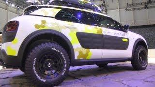 C4 CACTUS CITROEN SALON AUTO GENEVE 2014 - NOUVEAU SUV FRANCAIS