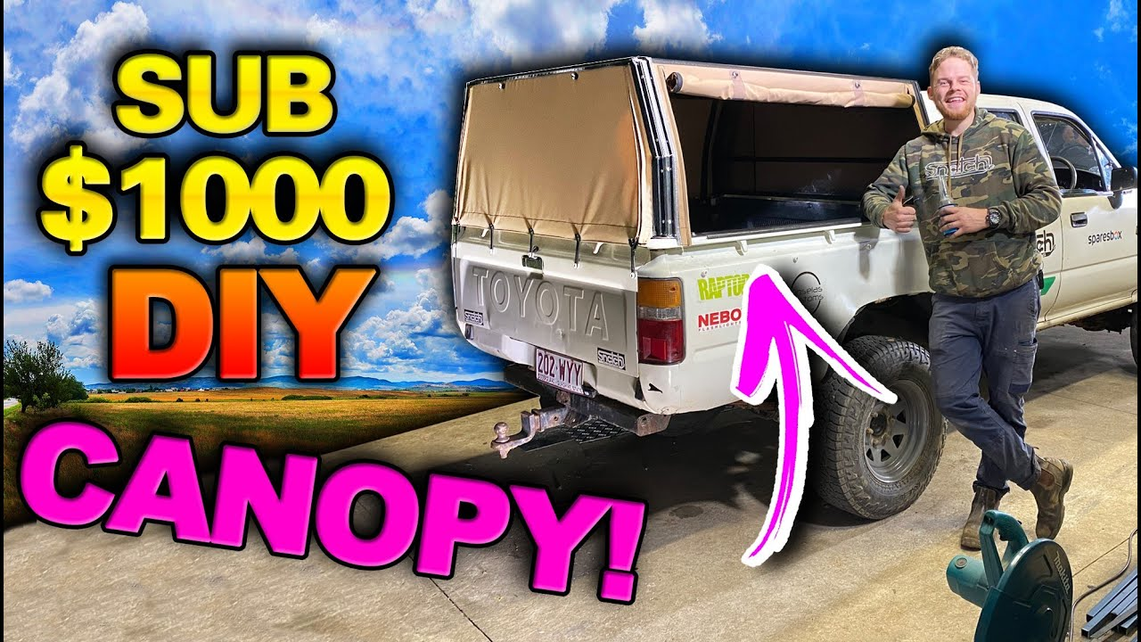 CHEAP $1000 Canopy & $200 Drawers Built in Shauno's shed! This will make you want to modify your 4WD