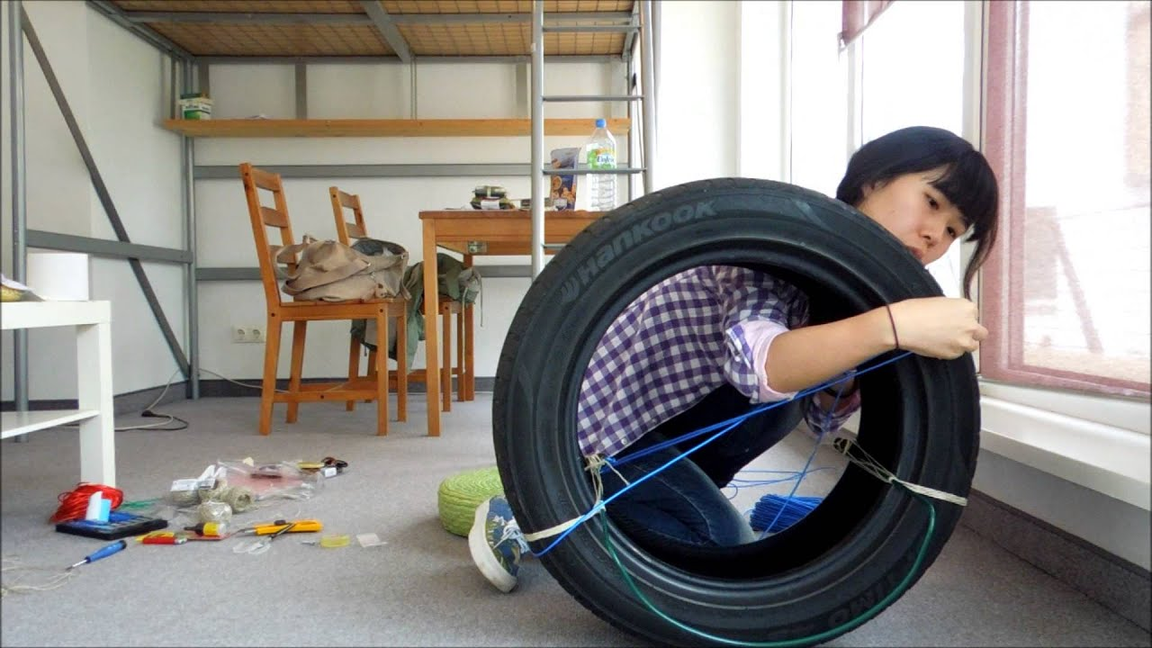 Re-Use.TV - Chair made of old car tire | Doovi
