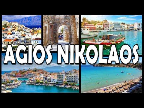 AGIOS NIKOLAOS - Crete (4K)