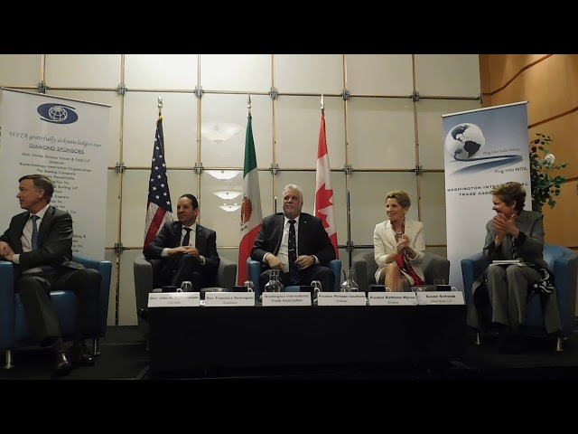 2/23/18 - Governors & Premiers on NAFTA: A View from States and Provinces Pt. 4