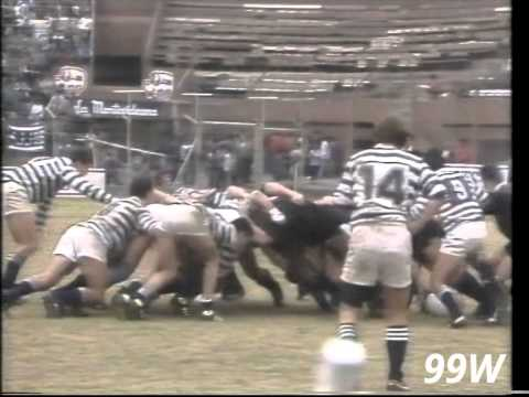 Rugby: All Blacks v Rosario 1991