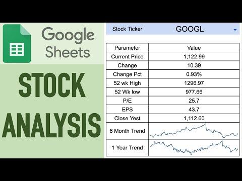 stock-tracking-&-analysis-using-google-sheets