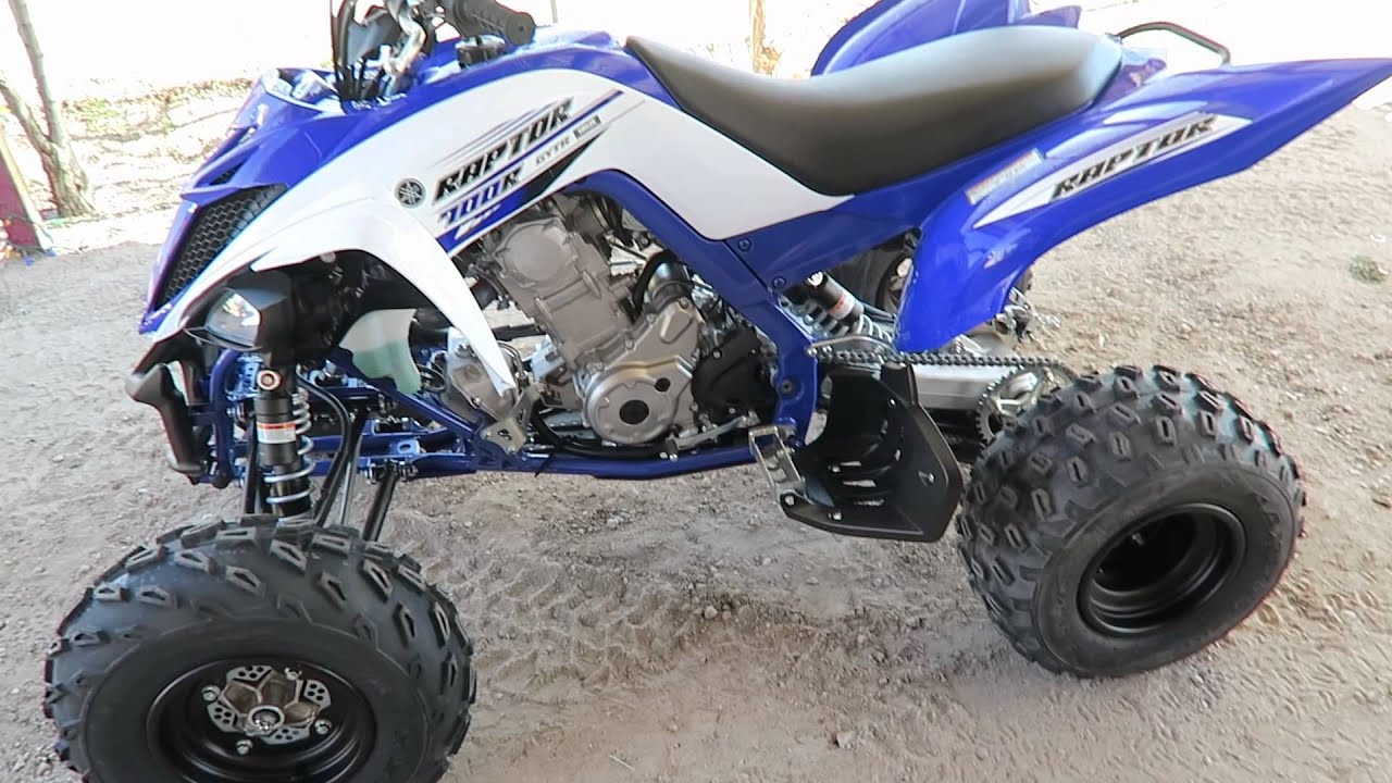 2016 Yamaha Raptor 700r Quick Review