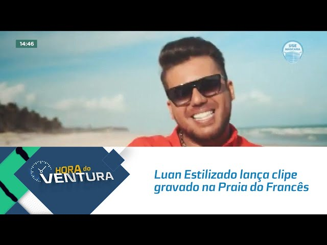 'Tá Faltando Eu': Luan Estilizado lança clipe gravado na Praia do Francês