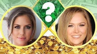 WHO'S RICHER? - Brittney Palmer or Ronda Rousey? - Net Worth Revealed! (2017)