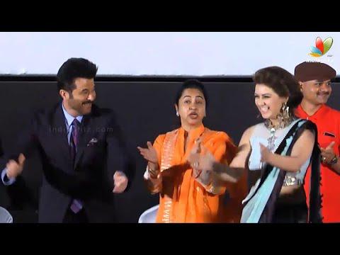 Anil Kapoor's Joyous Steps with Hansika...