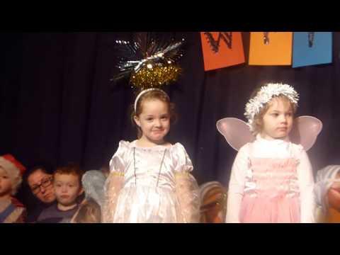 Primate Dixon Wriggly Nativity 2016 Starring Amelia, Grace, & Hannah