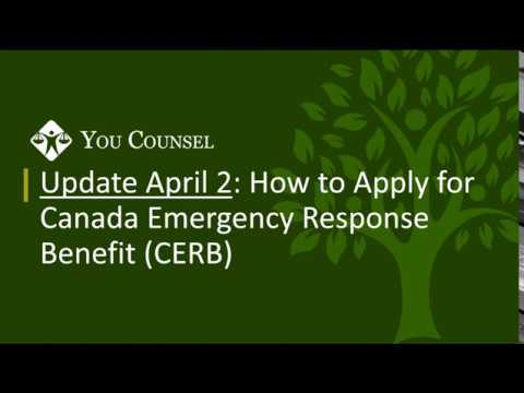 Update April 2: How To Apply For Canada Emergency Response Benefit (CERB)