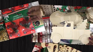 Dollar tree Christmas items 2019 / mini shop with me Christmas items at dollar tree 🎄