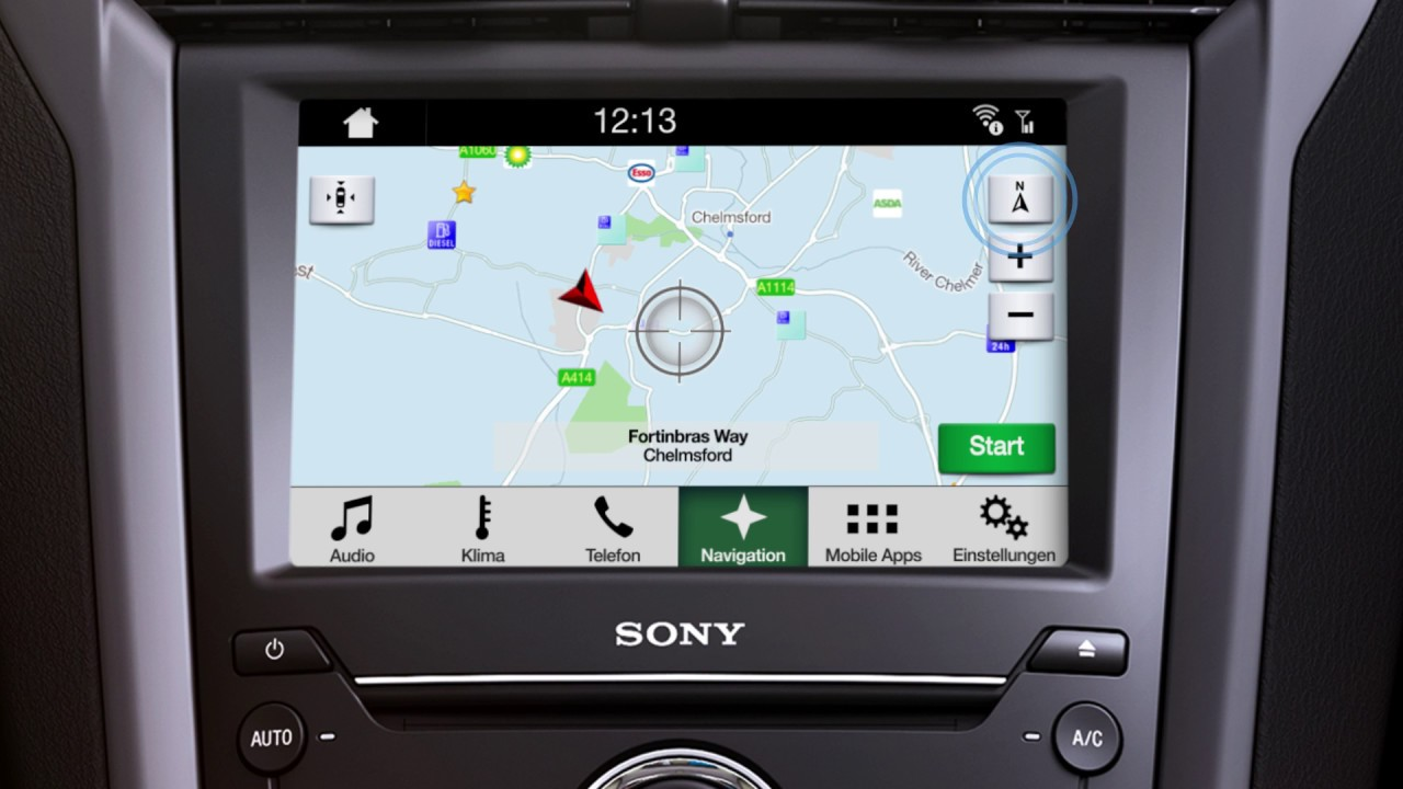 ford sync 3 berblick navigation youtube. Black Bedroom Furniture Sets. Home Design Ideas