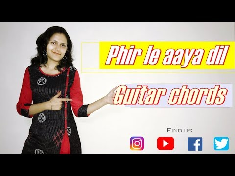 phir-le-aaya-dil-guitar-lesson-|-simple-guitar-chords-|-arijit-singh-(barfi)