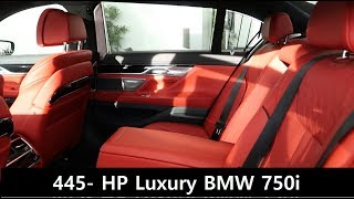 2018 BMW 750i With Red Interior REVIEW