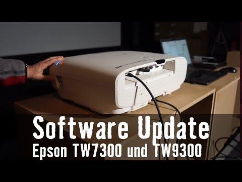 Software Update Epson TW7300 TW9300