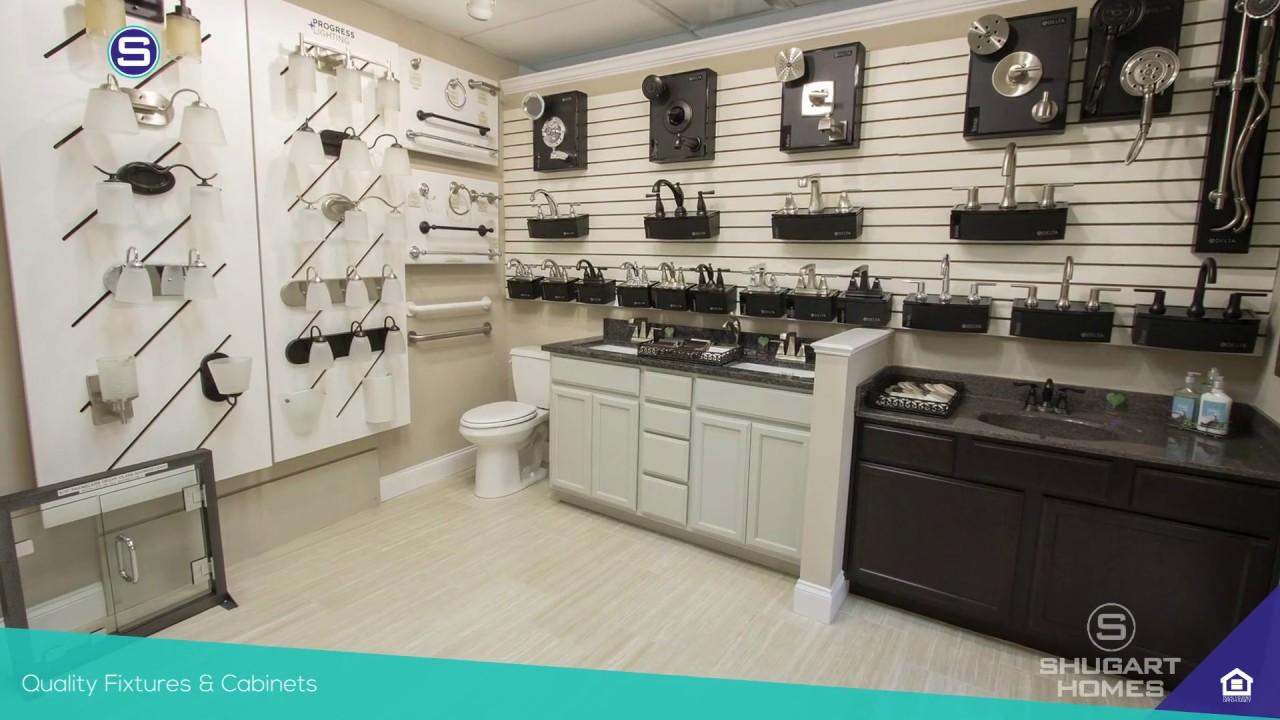 Shugart Homes Design Center Tour New Home Bathroom Design