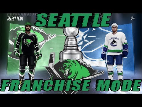 "NHL 18: Seattle Franchise Mode #17 ""STANLEY CUP PLAYOFFS!"""
