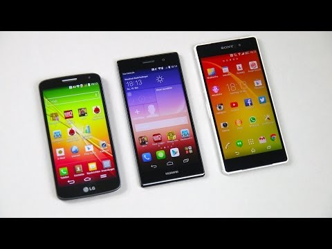 Huawei Ascend P7 vs. Sony Xperia Z2 vs. LG G2 Mini: Benchmark | SwagTab