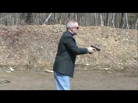 Federal Air Marshal Qualification Drill with Sig 220