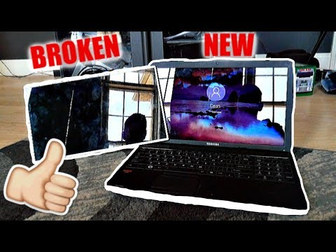 FIXING MY LAPTOP!! (Fan cleaning & Screen Replacement) *2019*