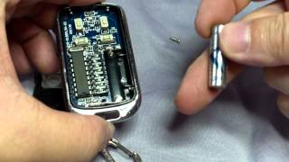 samsung HMX W350 testing - Battery changing house door remote control