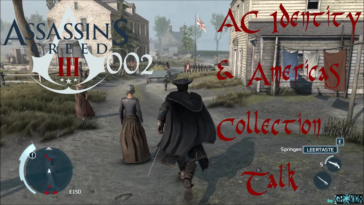 AC III #002 - AC Identity & Americans Collection Talk | Let's Show Assassin's  Creed III