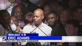 Eric Adams takes lead in NYC mayoral primary