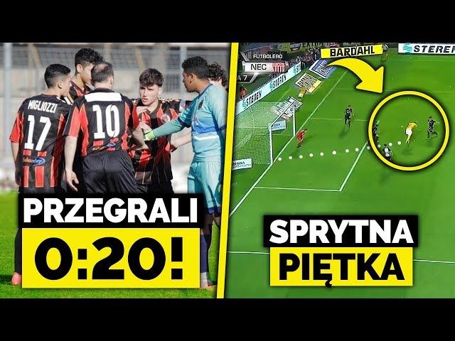 Pogrom... Przegrali 0:20! Piękna bramka z PIĘTKI! Ronaldo usunięty z okładki FIFA19