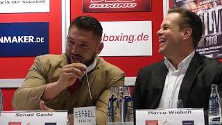 Tom Schwarz vs. Senad Gashi Boxen in Berlin Wortgefecht auf der PK