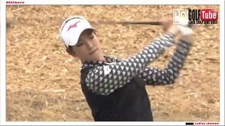 【golf swing】T point ENEOS GOLF 原 英莉花 プロ ドライバースウィング 23mar2019  Td vo1