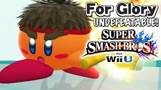 Fighter Kirby | Undefeatable! KIRBY Ep. 3 - Super Smash Bros for Wii U (For Glory) HD