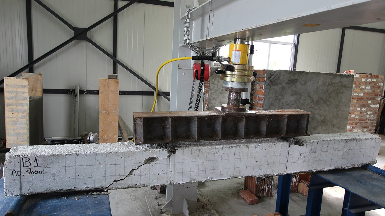 Flexural Behavior Of Reinforced Concrete Beams Youtube