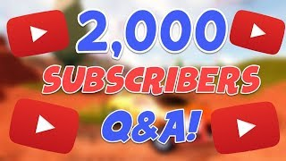 2000 Sub Q&A | What does my gaming setup look like?🤔 | Roblox Arsenal Gameplay