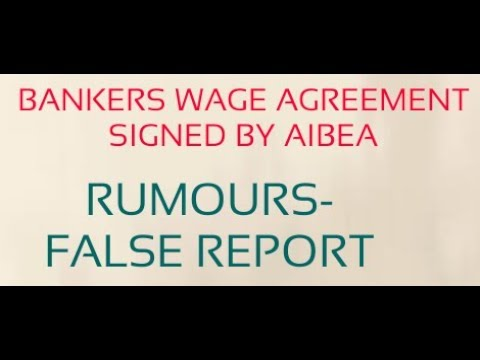 BANK WAGE AGREEMENT-RUMOURS AND FALSE CAMPAIGN ON SOCIAL MEDIA