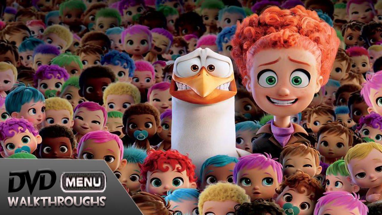 Storks 2016 Dvd Menu Walkthrough By Angelworks