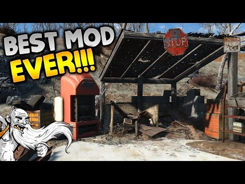 """THIS IS THE BEST SETTLEMENT MOD...EVER!!!"" - Fallout 4 Sim Settlements Mod Gameplay Let's Play"
