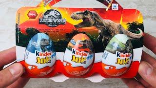 JURASSIC WORLD Kinder Joy Überraschungseier auspacken - surprise egg unboxing │ Hey Vikki