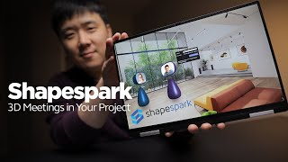 Shapespark 3D Meeting - Hold a Virtual Meeting Inside Your Design