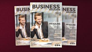 Magazine Cover Design in Affin…