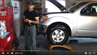 How to change Engine Oil and Filter on Nissan D40 Pick up also known as Nissan Frontier