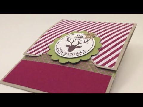 gutscheine verpacken gutschein als geschenk verpacke doovi. Black Bedroom Furniture Sets. Home Design Ideas
