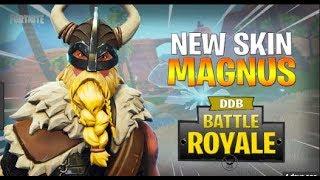Fortnite Magnus Skin Gameplay