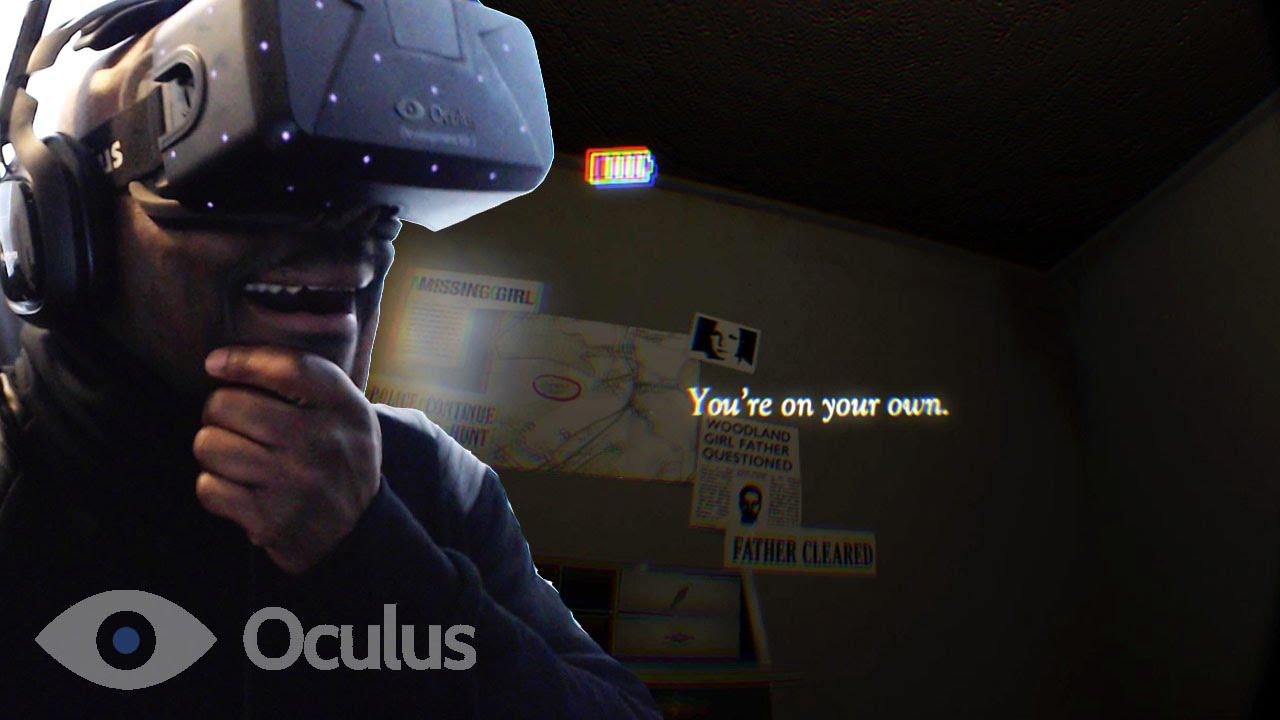 A Chair In A Room Oculus Rift