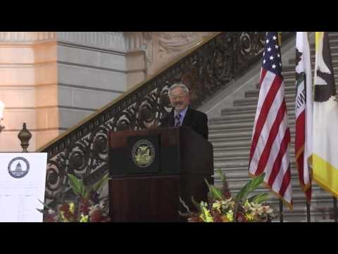 SF Mayor Ed Lee At The Jewish Heritage Month Celebration